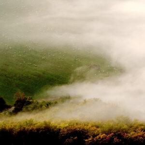 Súľov - vyhlídka pod vrchem Brada